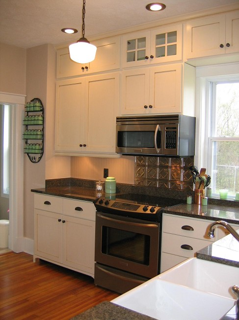 Piedmont woodworks gallery for 1930s style kitchen design